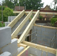 Carpentry of Wooden Roof